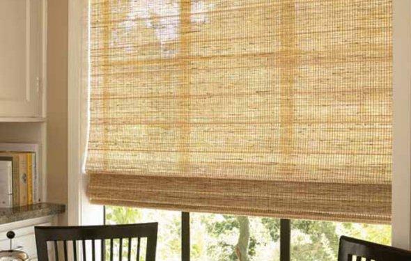 Фото бамбуковых штор