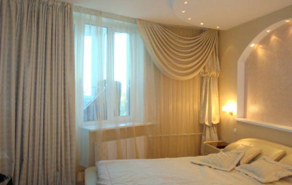 Выбор штор для спальни с