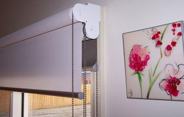 Два вида рулонных штор