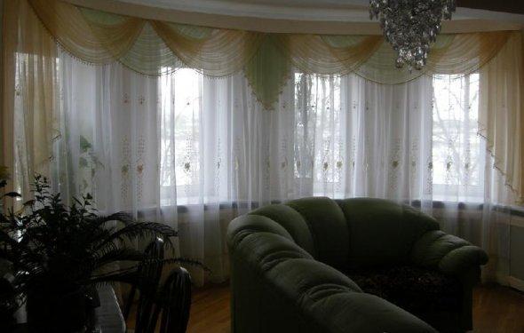 рулонные шторы и тюль для