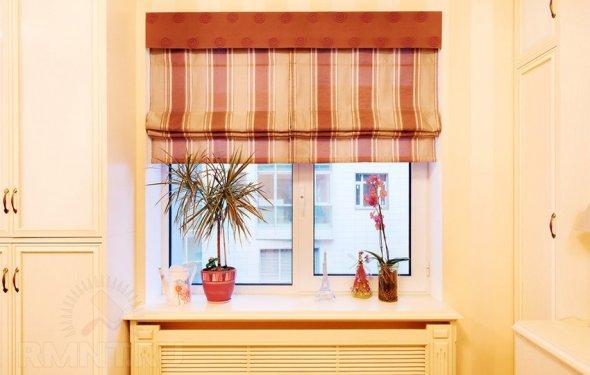 Как сделать римские шторы из
