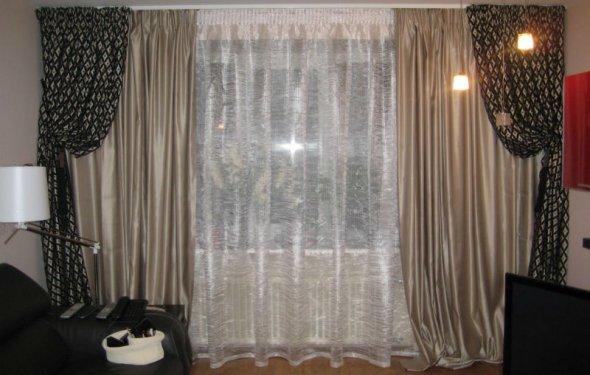 шторы для гостиной 2015