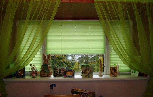Плиссе на пластиковые окна