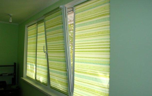Система Мини, Рулонные шторы