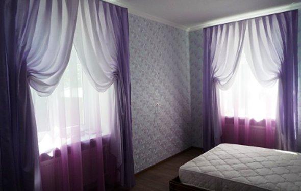 Шитье штор для спальни