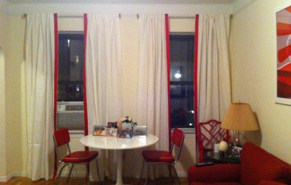 шторы икеа белые