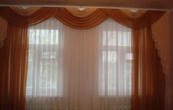 Шторы на два окна