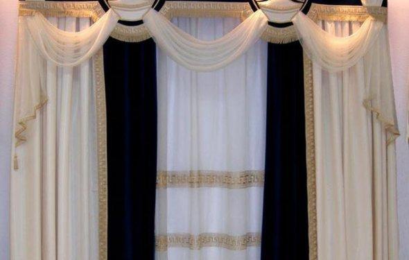 шторы в гостиную : Шторы и