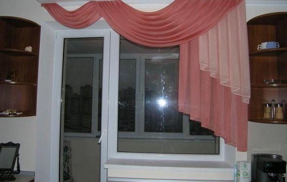 Пошив штор для кухни - модели